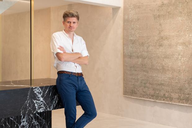 Luxetapijtontwerper Thibault Van Renne: 'Ik kreeg de passie met de paplepel mee'
