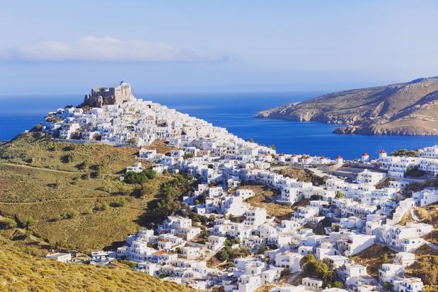 Griekse eiland Astypalaia bant diesel en benzine