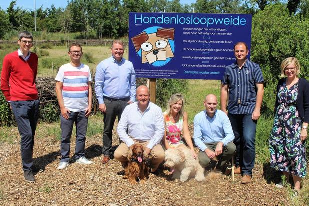 Oudenburg opent eerste hondenloopweide