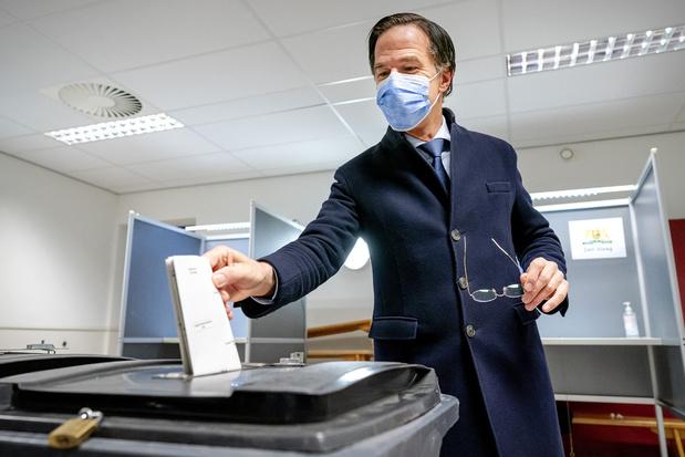 Verkiezingen in Nederland: VVD van Mark Rutte blijft grootste partij, grootste winst voor D66