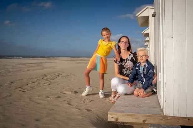 Stefanie Vanden Berghe en haar twee kinderen beleefden leuke vakantie in eigen streek