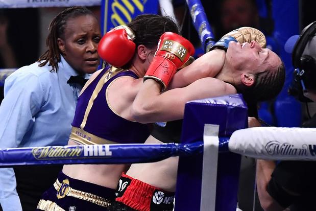 """Delfine Persoon bokst zaterdag om wereldtitel: """"Eerlijke jury? Je bent enkel zegezeker bij KO"""""""