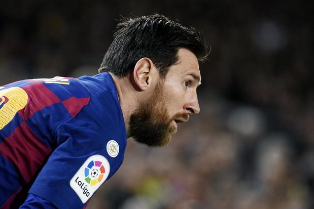 Messi: 'Het is het moment om thuis te blijven'