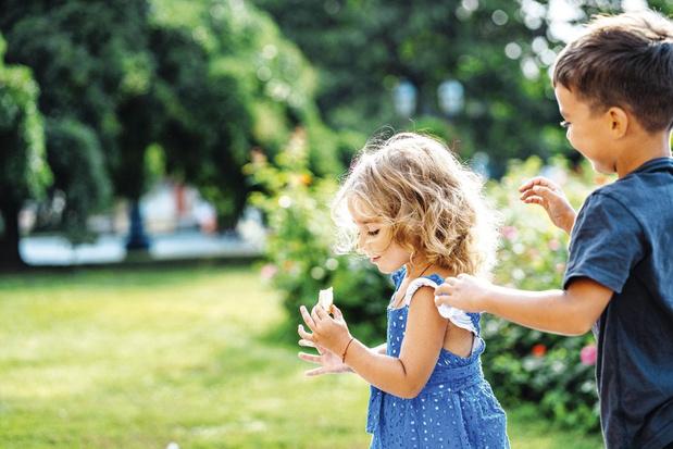 Kinderen worden slimmer in stadsparken