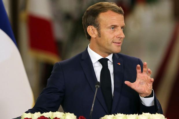 Macron kant zich tegen 'separatisme' en 'censuur'