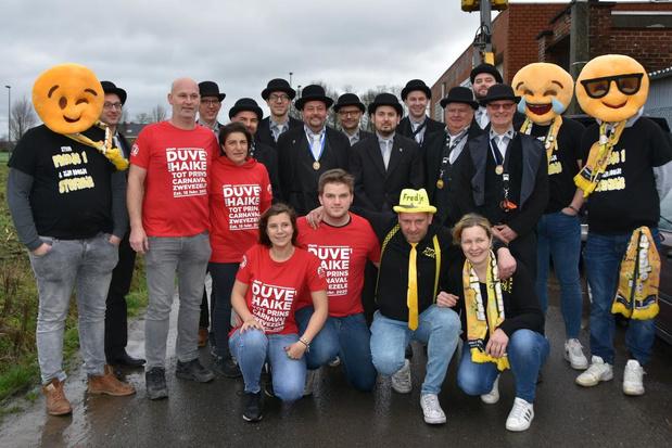 Verkiezing Prins Carnaval in Zwevezele