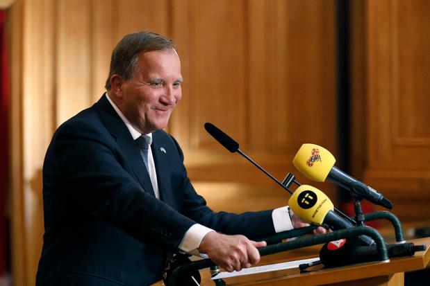 Stefan Löfven na ontslag opnieuw premier Zweden