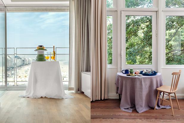 Dinner with a view: eten doe je ook met je ogen