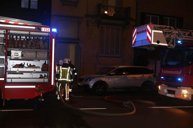 Appartement van jong koppel in Kortrijk onbewoonbaar na hevige brand