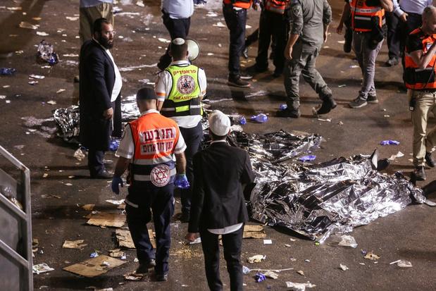 Tientallen doden nadat tribune instort bij bedevaart in Israël
