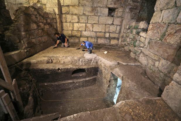 Archeologen ontdekken 2000 jaar oud ondergronds kamercomplex bij de Klaagmuur in Jeruzalem