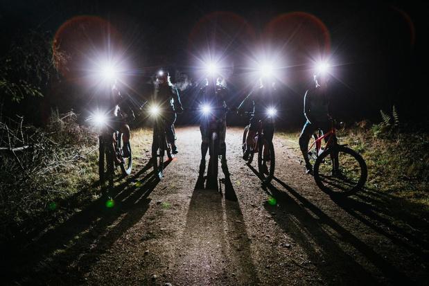 Zes procent van gecontroleerde fietsers rijdt zonder verlichting