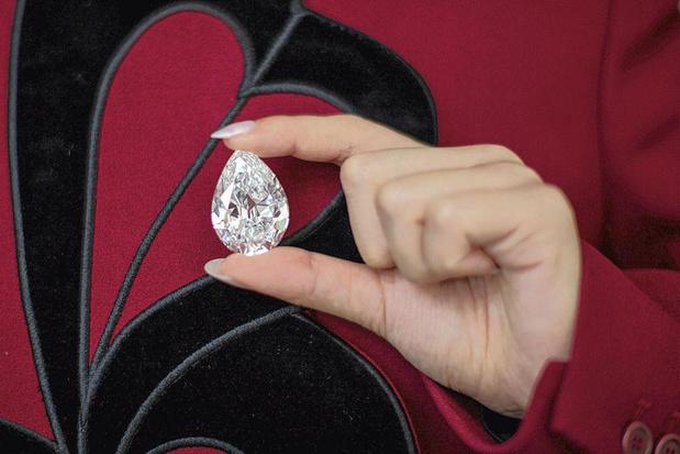 Diamant verkocht in cryptomunten