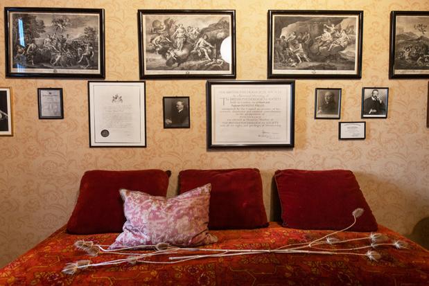Privévertrekken van Sigmund Freud in Wenen geopend voor het publiek
