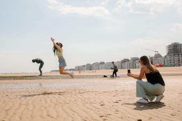 De TikTok-zomer: social media 'challenges' lokken toeristen naar Knokke en Brugge