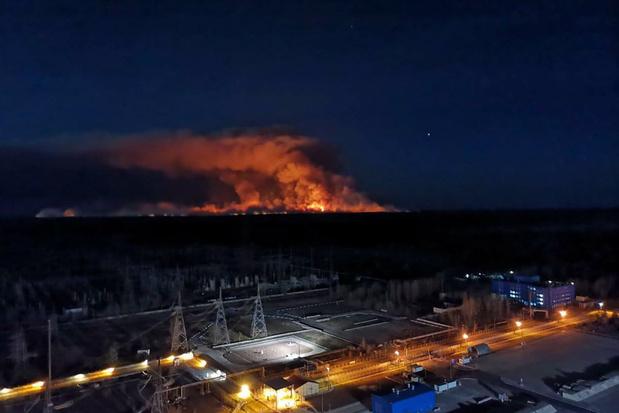 'Branden rondom Tsjernobyl geblust'