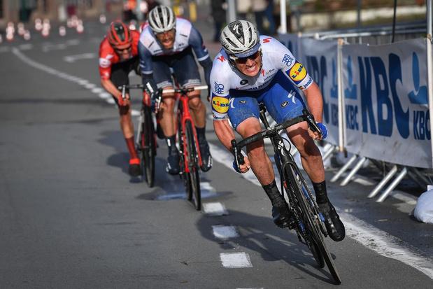 Yves Lampaert rijdt zondag Ronde van Vlaanderen op rollen