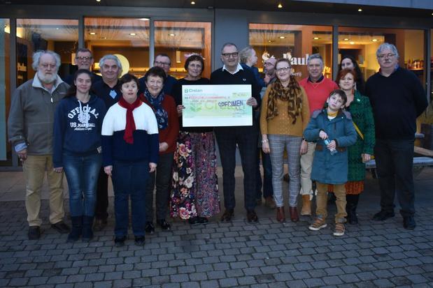 Comité voor Initiatief schenkt 4.750 euro aan Trefpunt Verstandelijke Handicap