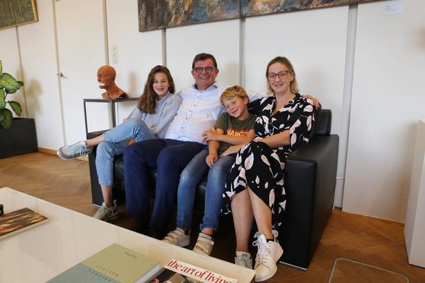 Bart Tommelein en zijn gezin blikken terug op zijn deelname aan The Masked Singer