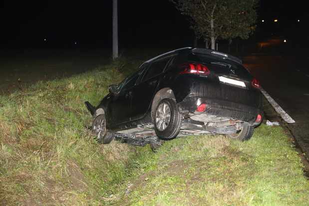 Vrouw raakt gewond bij ongeval in Geluwe