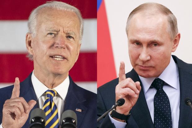 Biden wil Poetin in de ogen kunnen kijken om de Amerikaanse waarden te verdedigen