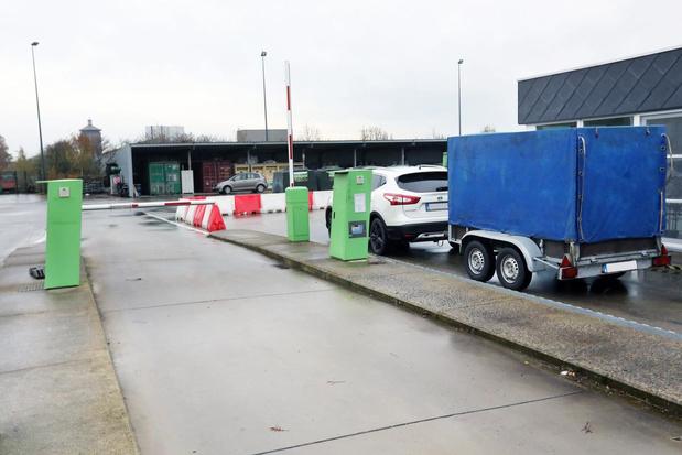 Torhouts recyclagepark nog tot eind september enkel na afspraak