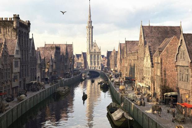 De middeleeuwse glorie herleeft in de Zwinstreek dankzij virtual reality