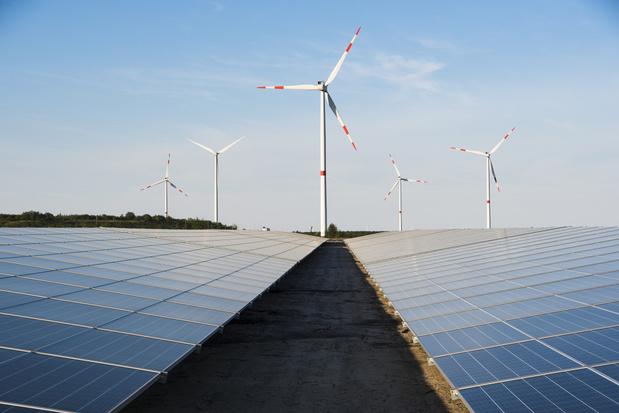 Belgische records hernieuwbare energie gesneuveld in 2020