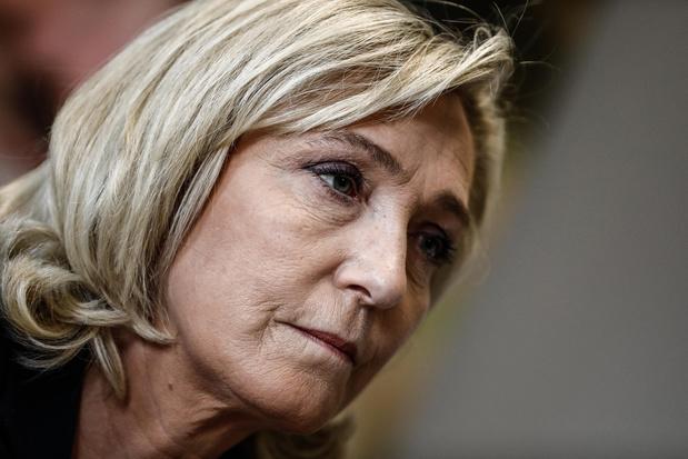 'Marine Le Pen komt in de race naar het Elysée wellicht opnieuw Emmanuel Macron tegen'