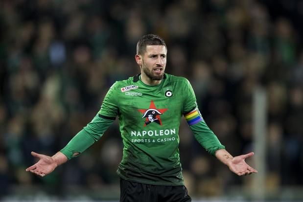 Cercle Brugge verlengt contract van Dylan De Belder niet