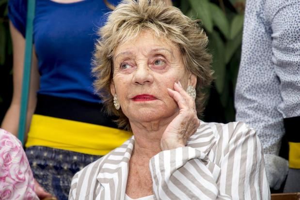 Brussel brengt hulde aan Annie Cordy op de Grote Markt