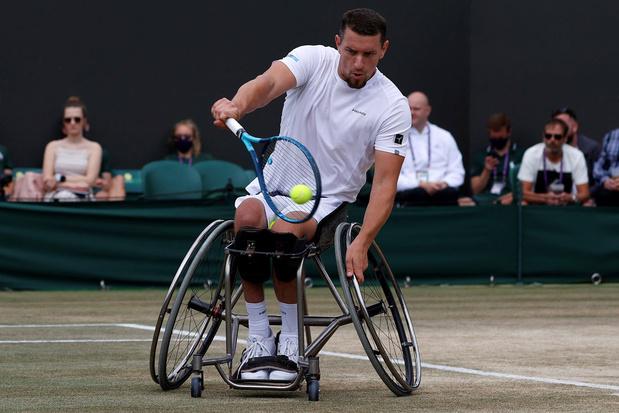 Rolstoeltennisser Joachim Gérard wint Wimbledon