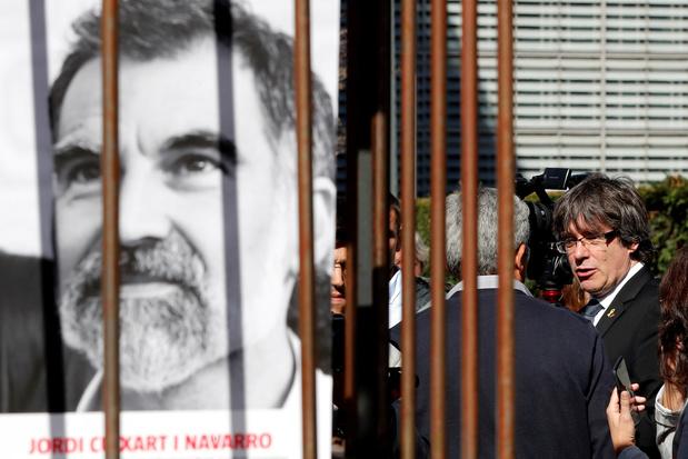 Opgesloten Catalaanse separatist mag gevangenis tijdelijk verlaten