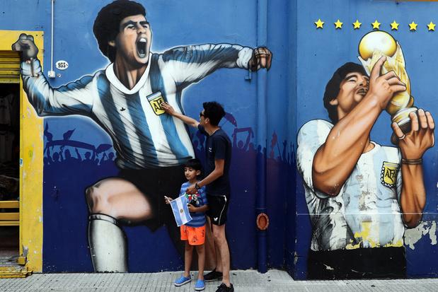 Drie dagen nationale rouw in Argentinië na overlijden Maradona