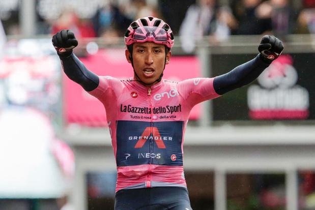 Bernal demonstreert meesterschap met tweede ritzege in Giro