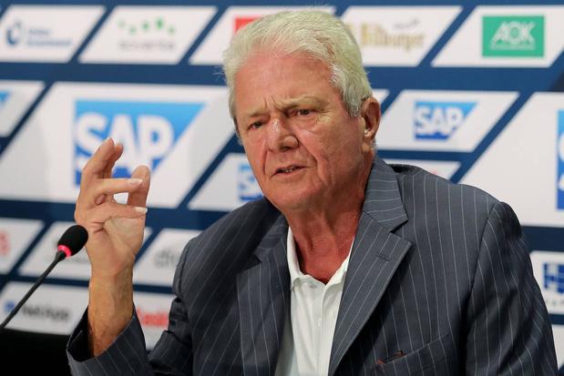 Gecontesteerde Hoffenheimvoorzitter Dietmar Hopp plots de hoop van Duitsland