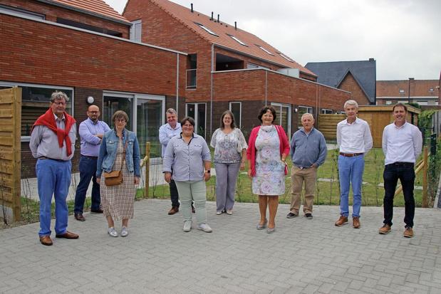 Vijf oude woningen maken plaats voor acht nieuwe: woonproject Hugo Verrieststraat is klaar