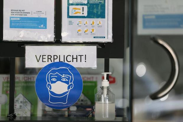 Langemark-Poelkapelle verplicht iedereen om mondmasker bij zich te hebben