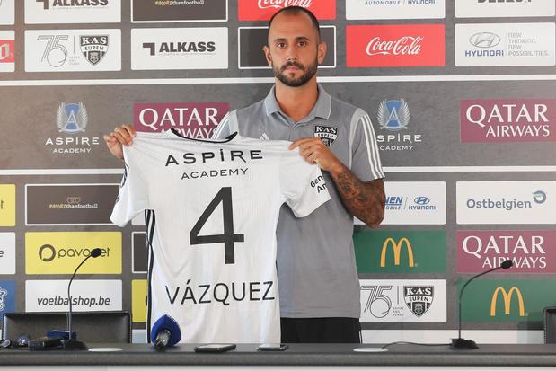 Clubnieuws: Vázquez alweer weg bij Eupen, transfervrije Milicevic naar Seraing & Waasland-Beveren zwaar getroffen door het coronavirus