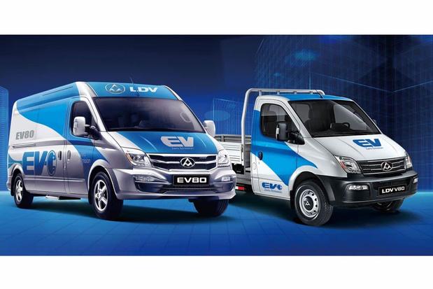 Les vans chinois Maxus en vente en Belgique