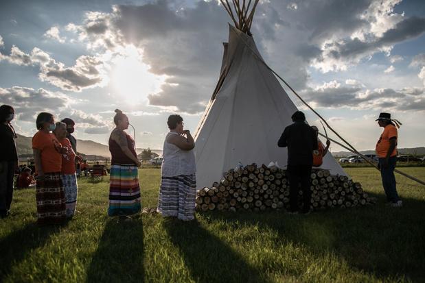 Paus Franciscus ontmoet in december Canadese delegatie van inheemse volkeren