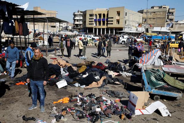 Voor het eerst in anderhalf jaar zelfmoordaanslag in Bagdad: meer dan twintig doden