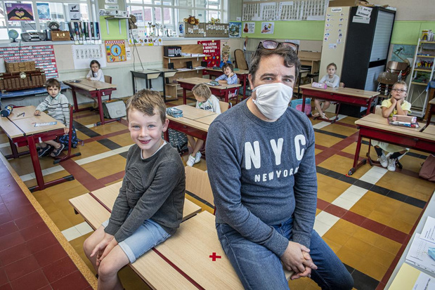 Eerste schoolweek in VBS De Boomgaard verloopt vlot