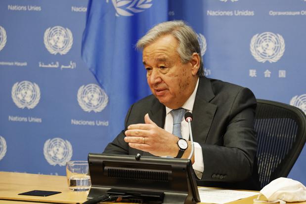VN-baas Antonio Guterres roept wereld op om klimaatnoodtoestand uit te roepen