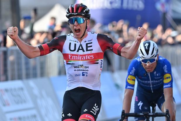 Pogacar wint Ronde van Lombardije