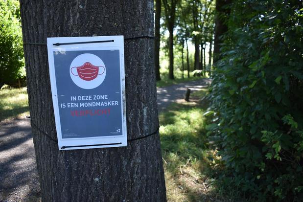 Stad Ieper heft mondmaskerplicht in De Palingbeek op