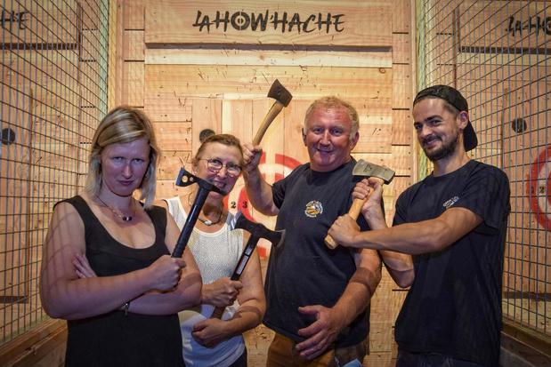 Nieuw bijlwerpcentrum La How'Hache opent de deuren in Komen