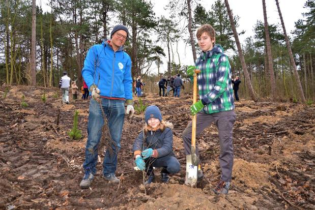 ANB krijgt helpende handen voor aanplanting 1300 bomen in De Haan