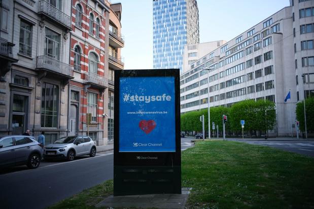 20 km/u in Brusselse Vijfhoek tijdens lockdown