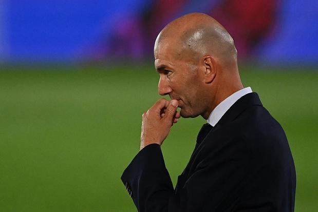 'Ik zal geen ontslag nemen', zegt Zinédine Zidane na nieuwe nederlaag met Real